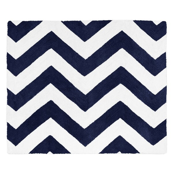 Chevron Floor Rug by Sweet Jojo Designs