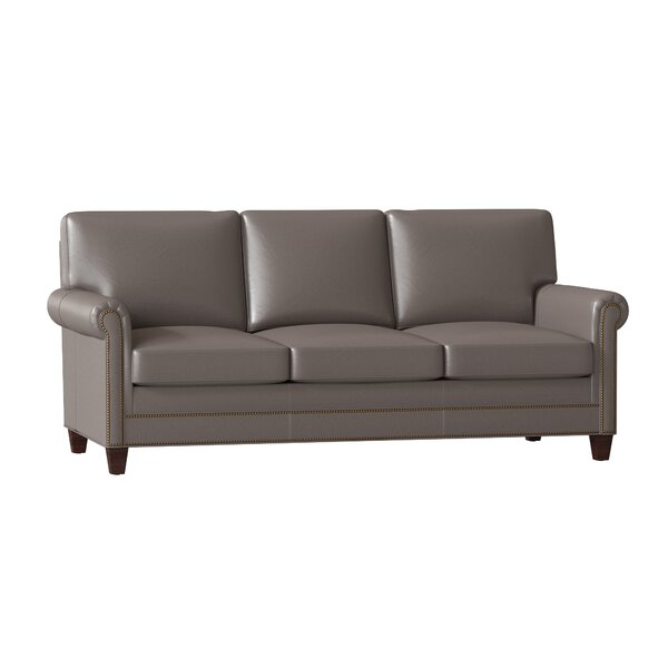 Raylen Leather Sofa by Bradington-Young