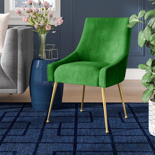 Dusek Velvet Upholstered Side Chair By Brayden Studio®