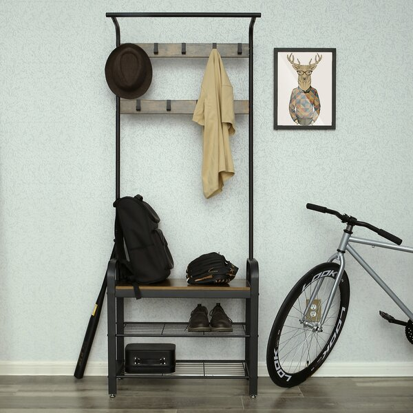 Paredes Hall Tree With Bench And Shoe Storage By Williston Forge