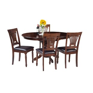 Maryrose 5 Piece Solid Wood Dining Set ByDarby Home Co