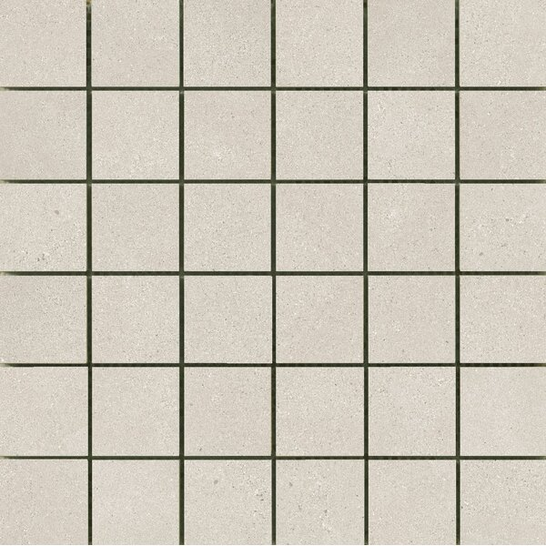 Alpha 2 x 2 Ceramic Mosaic Tile in Silver by Emser Tile