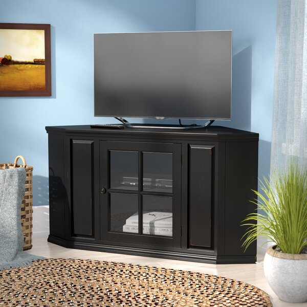 Review Tucci Corner TV Stand For TVs Up To 50