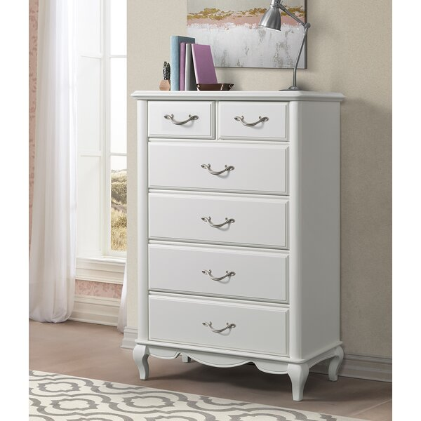Gholston 6 Drawer Chest by Harriet Bee