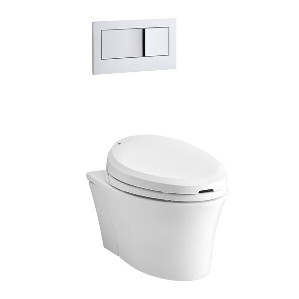 Veil Wall-Hung Elongated Toilet Bowl by Kohler
