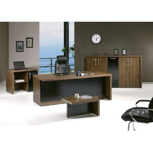 Puccio Modern Desk Office Suite (Set of 4)