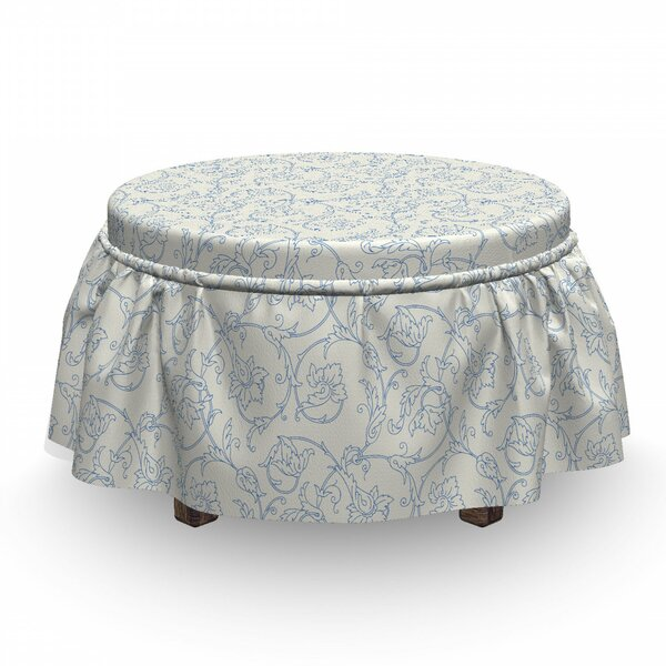 Best Box Cushion Ottoman Slipcover
