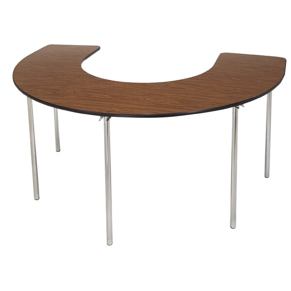72 x 48 Horseshoe Activity Table by AmTab Manufacturing Corporation