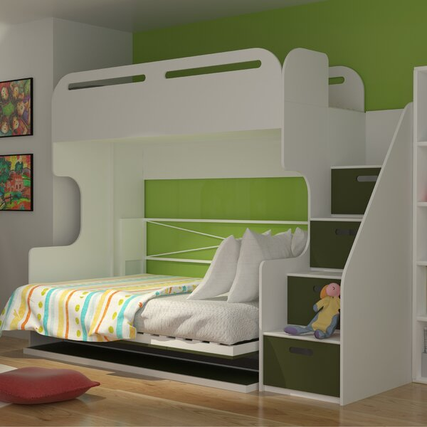 Janiyah Twin Over Full Bunk Bed with Drawers by Isabelle & Max