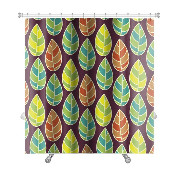 Leaves Beautiful Leaf Premium Shower Curtain by Gear New