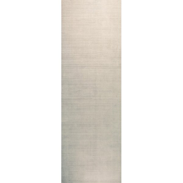 Alston Hand Woven Platinum Area Rug by Corrigan Studio