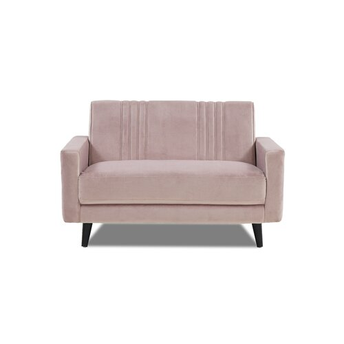 Almon 2 Seater Sofa Canora Grey Upholstery