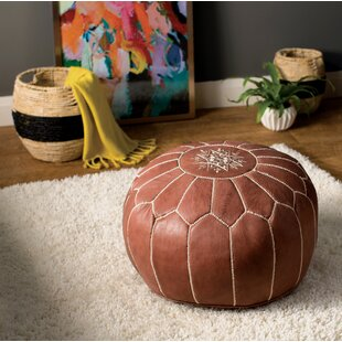 Affordable Carolos Pouf by Mistana
