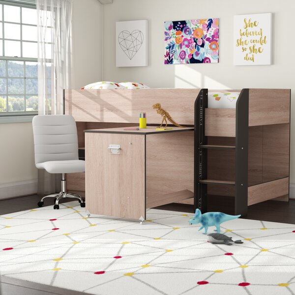 Adhara Twin Loft Bed with Drawers by Mack & Milo