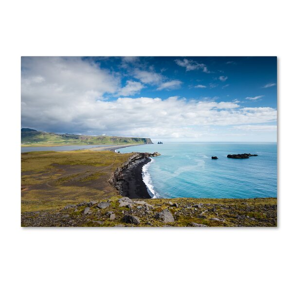 Icelandic Landscape by Philippe Sainte-Laudy Photographic Print on Wrapped Canvas by Trademark Fine Art
