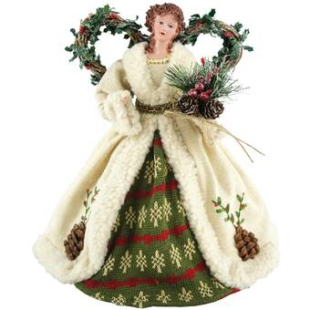 Peace Christmas Tree Topper.The Holiday Aisle Christmas Angel Tree Topper Reviews