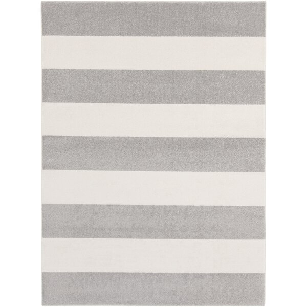 Greer Gray/Ivory Area Rug by Latitude Run