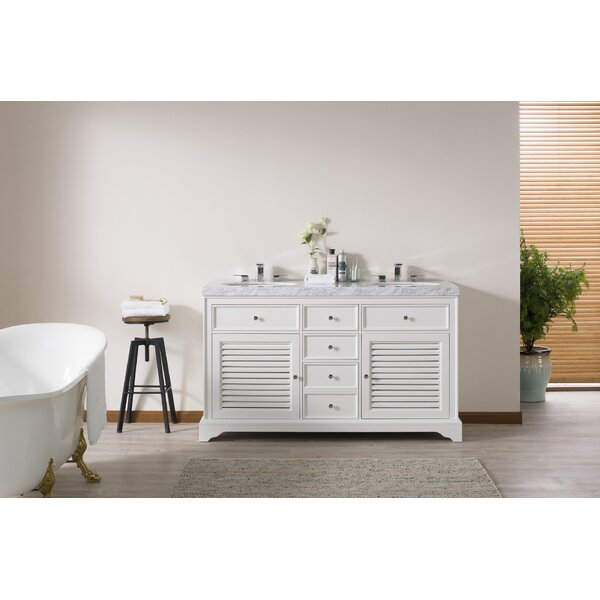 Cline 60 Double Bathroom Vanity Set