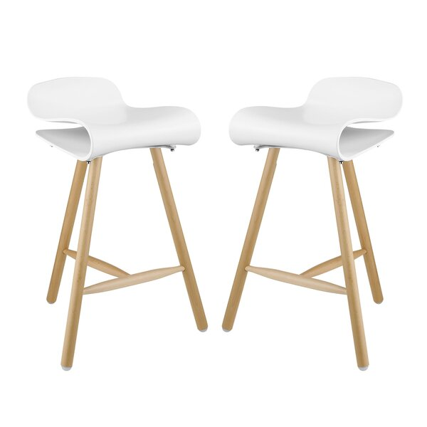 Clip 27 Bar Stool (Set of 2) by Modway
