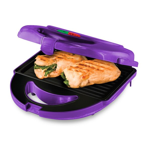 7 Piece Ceramic Indoor Electric Grill by Big Boss