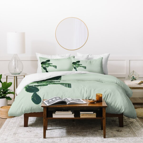 Adam Priester Get Your Cactus Sorted Duvet Set by East Urban Home
