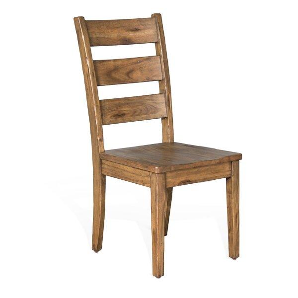 Joliette Dry Leaf Ladderback Dining Chair by Loon Peak