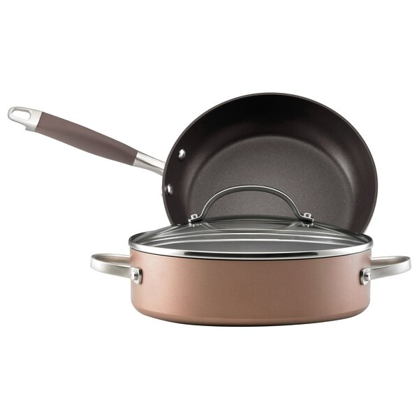 Advanced Bronze 3 Piece Cookware Set by Anolon