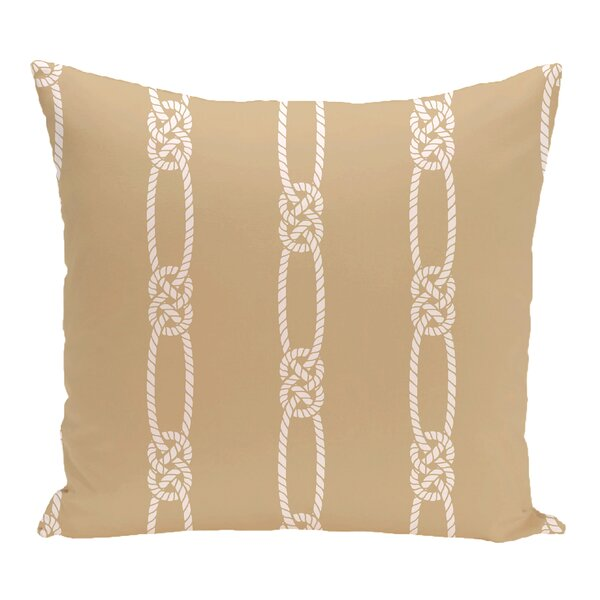 Hancock Tom Foolery Stripe Outdoor Throw Pillow by Breakwater Bay