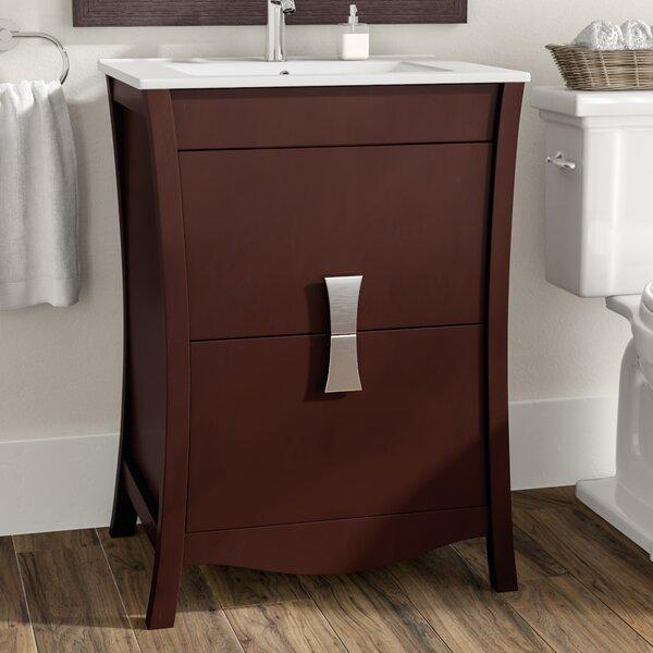 Cataldo Floor Mount 24 Single Bathroom Vanity Set by Royal Purple Bath Kitchen