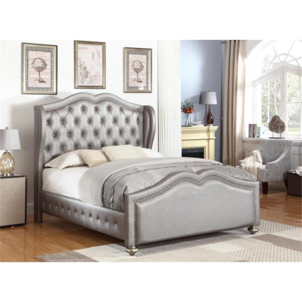 Marybella Dover Fully Upholstered Standard Bed by Rosdorf Park