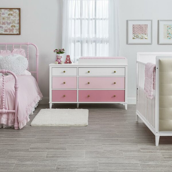 Monarch Hill Poppy 6 Drawer Double Dresser by Little Seeds