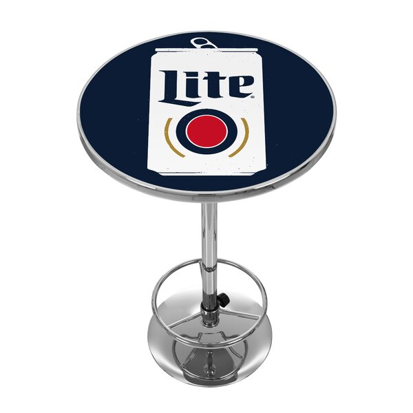 Miller Lite Minimalist Pub Table by Trademark Global