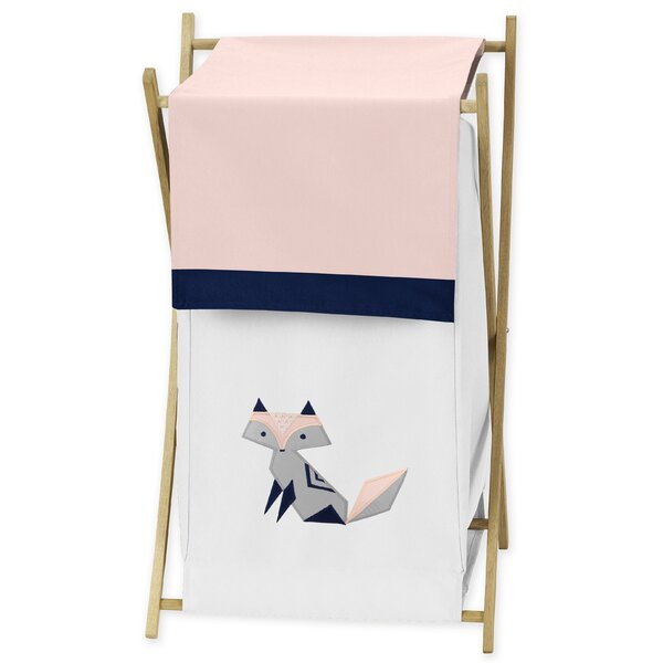 Fox Patch Laundry Hamper by Sweet Jojo Designs