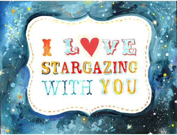 Stargazing Canvas Art by Oopsy Daisy