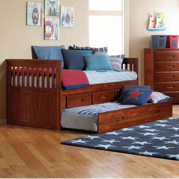Eichler Twin Storage Platform Bed by Harriet Bee