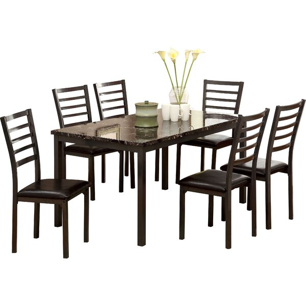 Cramer 7 Piece Dining Set by Hokku Designs