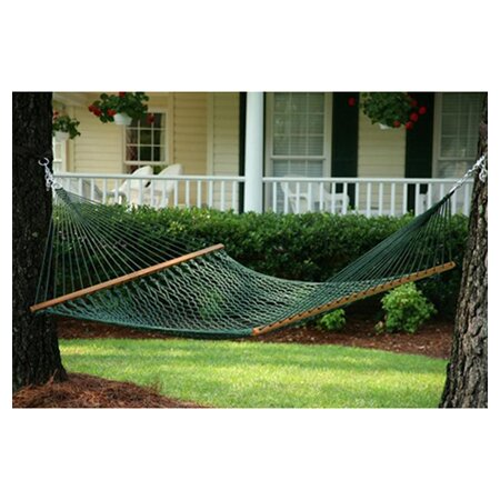 Ecker Rope Hammock in Green by Charlton Home