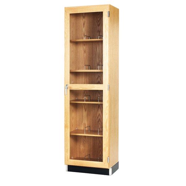 Mobile Series 5 Tier 1 Wide Storage Lockers by Diversified Woodcrafts