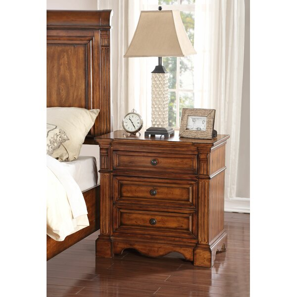 Carrow 2 Drawer Nightstand by Fleur De Lis Living