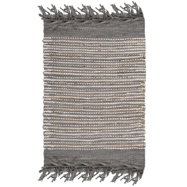 Glostrup Hand Tufted Cotton Gray Area Rug by Bungalow Rose
