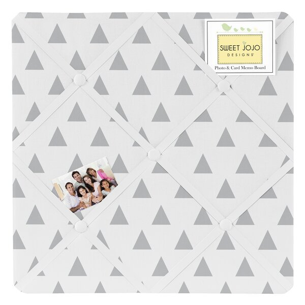 Earth and Sky Triangle Memo Board by Sweet Jojo Designs