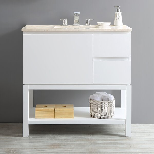 Malvern 36 Single Vanity Set by Highland Dunes