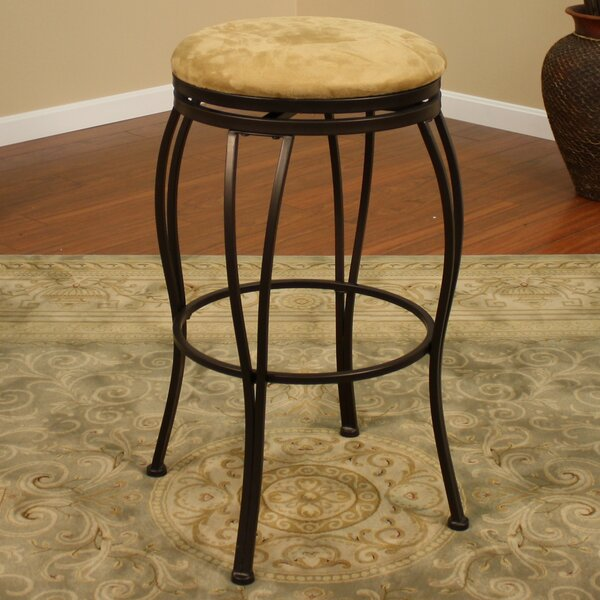 Meyers 30 Swivel Bar Stool by Alcott Hill