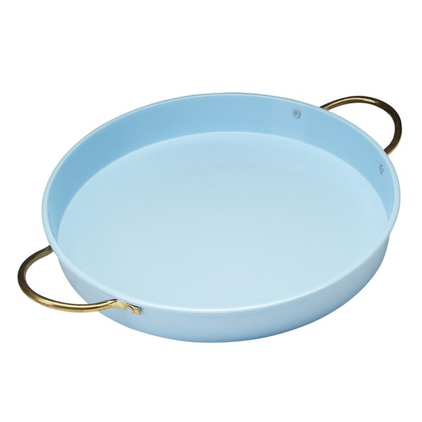 Vento Round Serving Tray by Red Pomegranate