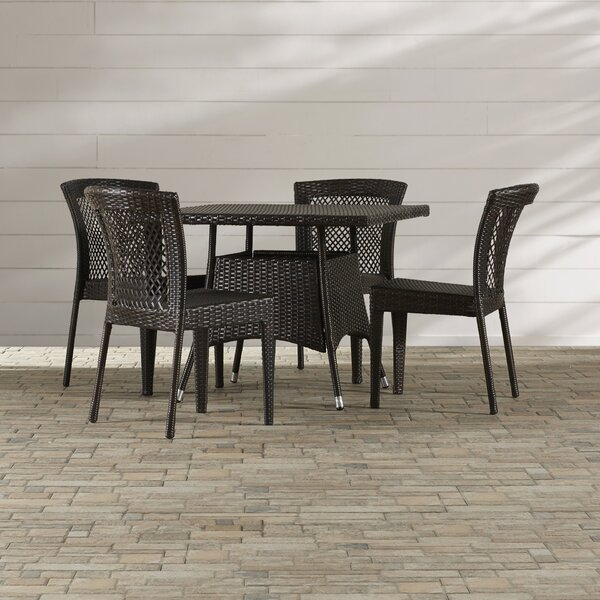 Mireia 5 Piece Dining Set by Highland Dunes