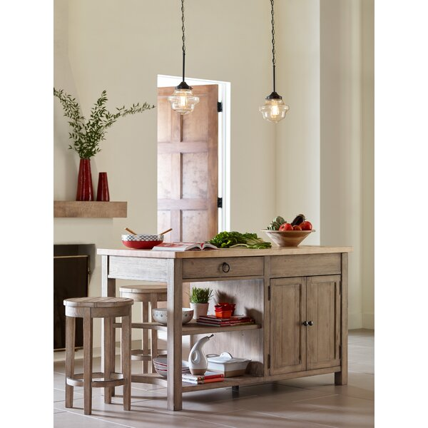 Monteverdi Kitchen Island Set by Rachael Ray Home