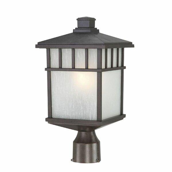 Teminot Outdoor 1-Light Glass Lantern Head by Bloomsbury Market