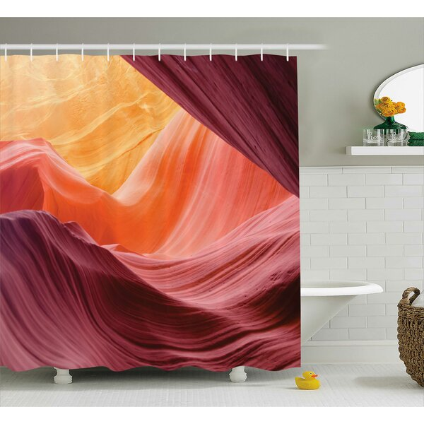 Emory Grand Canyon Scenery Shower Curtain by Ebern Designs