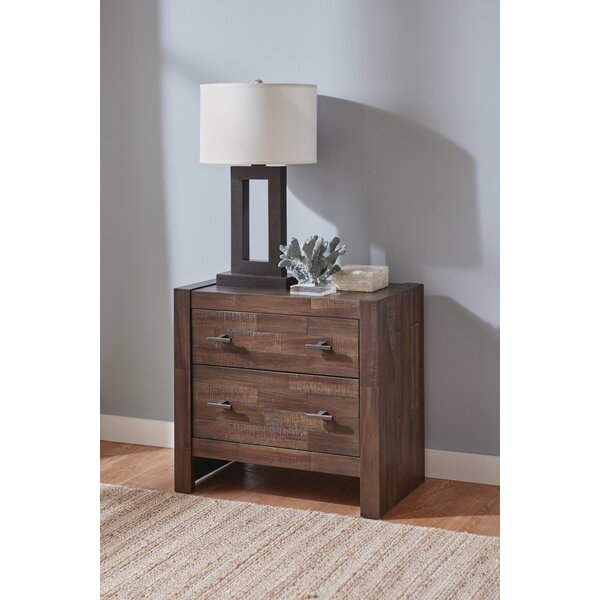 Chung 2 Drawer Nightstand by Foundry Select