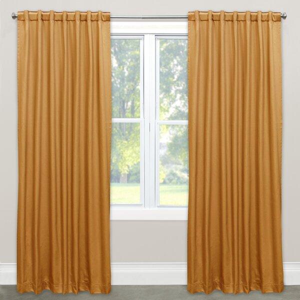 Kaler Solid Rod Pocket Single Curtain Panel by Brayden Studio